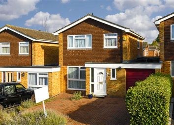 Thumbnail 3 bed link-detached house for sale in Poplar Drive, Banstead, Surrey