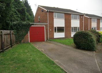 Thumbnail 3 bed semi-detached house to rent in Christopher Drive, Leicester
