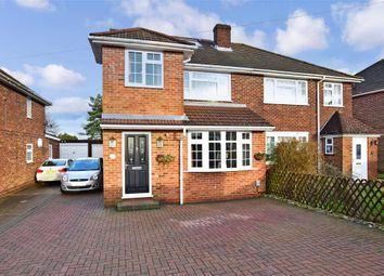 4 bed semi-detached house for sale in Tunbury Avenue, Walderslade, Chatham, Kent ME5