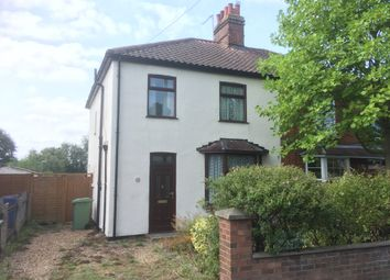 Thumbnail 3 bedroom semi-detached house for sale in Mousehold Lane, Sprowston, Norwich
