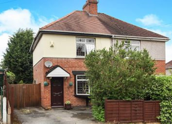 Thumbnail 2 bed semi-detached house for sale in Peel Road, Warwick
