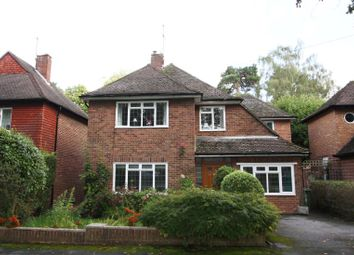 Thumbnail 4 bed detached house to rent in Hamilton Avenue, Pyrford