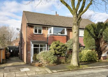 Thumbnail 3 bed semi-detached house for sale in Harlech Avenue, Whitefield, Manchester