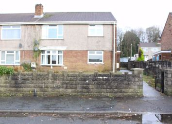 Thumbnail 2 bed flat for sale in Heol Ffynnon, Loughor, Swansea
