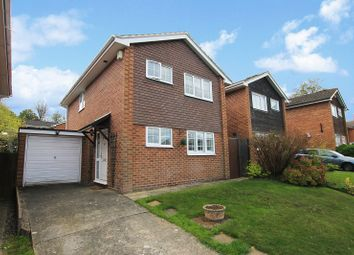 Thumbnail 3 bed detached house for sale in Kelso Close, Worth, Crawley, West Sussex.