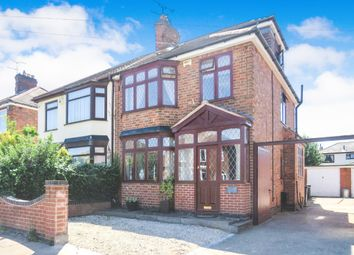 Thumbnail 4 bed semi-detached house for sale in Paigle Road, Aylestone, Leicester