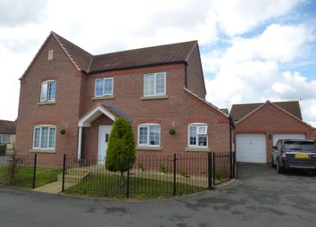 Thumbnail 4 bed detached house to rent in Farthing Close, Boston