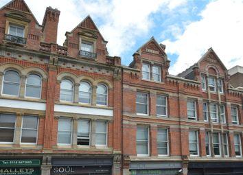 Thumbnail 2 bed flat for sale in Regent Court, Derby Street, Nottingham