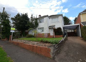 Thumbnail 3 bed detached house for sale in Lon-Ysgubor, Rhiwbina, Cardiff.