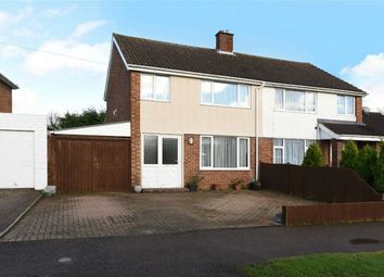 Thumbnail 3 bed semi-detached house for sale in Stanhope Road, Bedford
