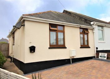 Thumbnail 2 bed semi-detached bungalow for sale in Hillside Road, Paignton