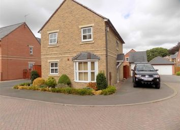 Thumbnail 3 bed detached house to rent in Birch Tree Drive, Cheddleton, Staffordshire