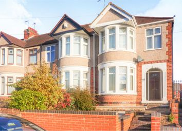 Thumbnail 3 bed end terrace house for sale in Sussex Road, Coventry