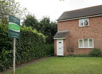 Thumbnail 1 bed flat to rent in Onehouse Road, Stowmarket, Suffolk