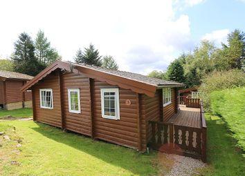 Thumbnail 3 bed mobile/park home for sale in Cabin 302, Trawsfynydd Holiday Village, Bron Aber, Trawsfynydd, Blaenau Ffestiniog, Gwynedd