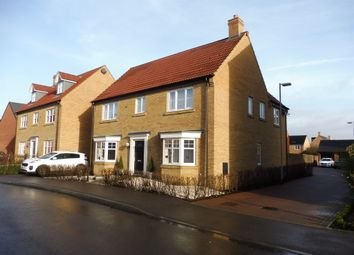 Thumbnail 4 bed detached house for sale in Mitchcroft Road, Longstanton, Cambridge
