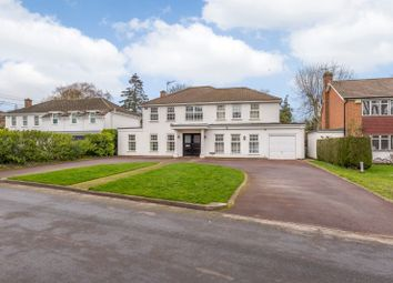 Thumbnail 5 bed detached house to rent in Round Oak Road, Weybridge