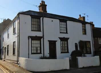 Thumbnail 3 bed cottage for sale in Dymchurch Road, Hythe