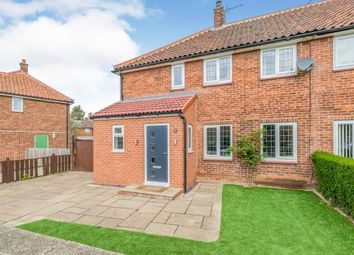 Thumbnail 4 bed semi-detached house for sale in Central Drive, Northallerton