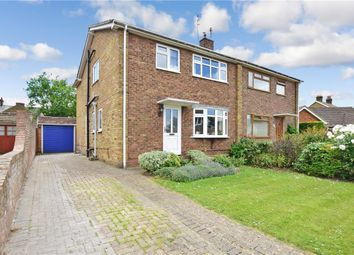 Thumbnail 3 bed semi-detached house for sale in Warwick Crescent, Sittingbourne, Kent