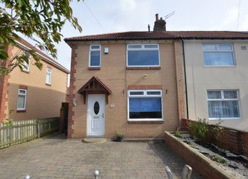 Thumbnail 3 bed semi-detached house for sale in Palm Avenue, Fenham, Newcastle Upon Tyne