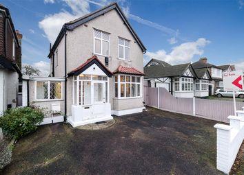Thumbnail 3 bed detached house for sale in Milner Road, Morden, Surrey