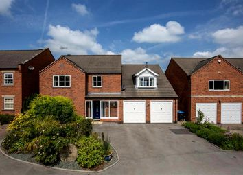 Thumbnail 4 bed detached house for sale in Cedar Court, Hulland Ward, Ashbourne