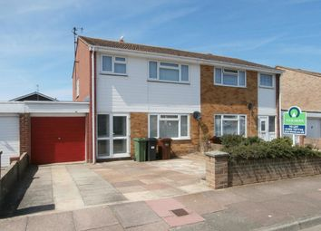 Thumbnail 3 bed semi-detached house to rent in Beatty Road, Eastbourne