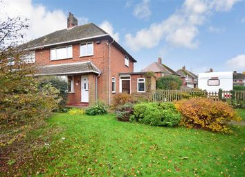 Thumbnail 3 bed semi-detached house for sale in Horn Street, Folkestone, Kent