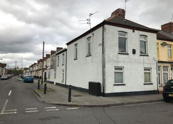 Thumbnail 4 bedroom end terrace house for sale in Court Road, Grangetown, Cardiff