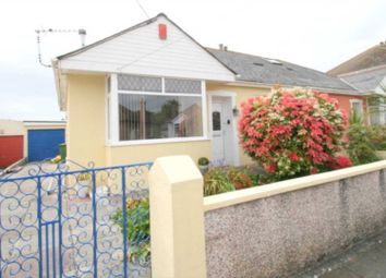 Thumbnail 3 bed bungalow for sale in Bowden Park Road, Plymouth