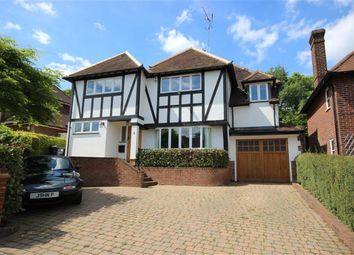 Thumbnail 5 bed detached house for sale in Carisbrooke Road, Harpenden, Hertfordshire