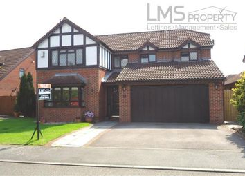 Thumbnail 4 bed detached house to rent in Beagle Point, Winsford