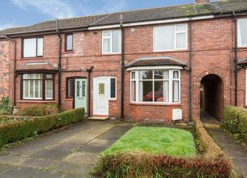 Thumbnail 3 bed terraced house for sale in Fairfield Avenue, Sandbach, Cheshire