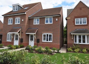 Thumbnail 3 bed semi-detached house to rent in Manor Farm, North Hykeham, Lincoln