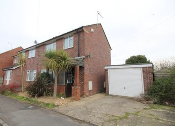 Thumbnail 2 bed semi-detached house for sale in Heights Approach, Upton, Poole