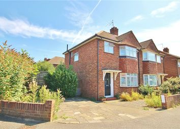 Thumbnail 3 bed semi-detached house to rent in Wolsey Road, Sunbury On Thames, Middlesex