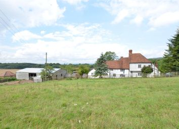 Thumbnail 6 bed equestrian property for sale in Harple Lane, Detling, Maidstone