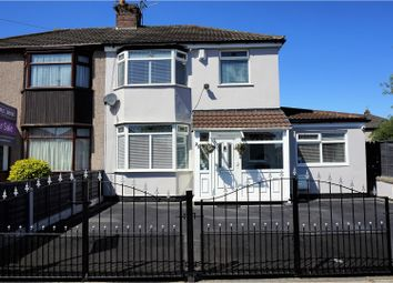 Thumbnail 4 bed semi-detached house for sale in Page Moss Lane, Liverpool