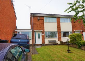Thumbnail 2 bed semi-detached house for sale in Berwyn Close, Buckley