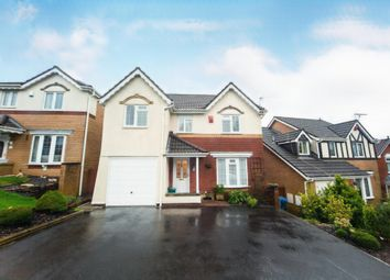 Thumbnail 4 bed detached house for sale in Parc Bryn Derwen, Llanharan, Pontyclun