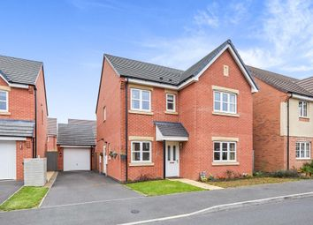 Thumbnail 4 bed detached house for sale in Phildock Wood Road, Derby