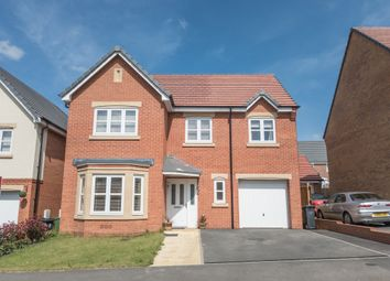 Thumbnail 4 bed detached house for sale in Aspen Close, Great Glen, Leicester