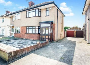 Thumbnail 3 bedroom semi-detached house for sale in Highfield Road, Collier Row, Romford
