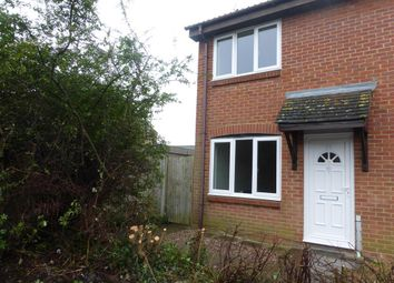 Thumbnail 2 bedroom end terrace house to rent in Vickery Close, Aylesbury