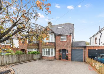 Thumbnail 4 bed semi-detached house for sale in Goldstone Crescent, Hove