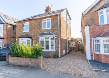 Thumbnail 4 bed semi-detached house for sale in Molesey Road, Hersham, Walton-On-Thames