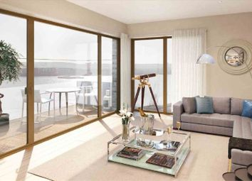 Thumbnail 2 bed flat for sale in The Tower, Royal Dockside, London
