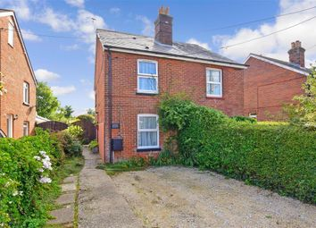 Thumbnail 2 bed semi-detached house for sale in Gunville Road, Newport, Isle Of Wight