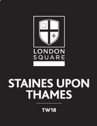 Thumbnail 1 bed flat for sale in London Square, Charter Square, Block D, Staines Upon Thames, Surrey